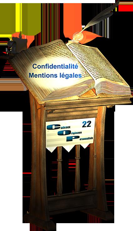 confidentialité, mentions légales