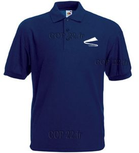 polo navy homme