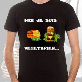 tee-shirt noir homme